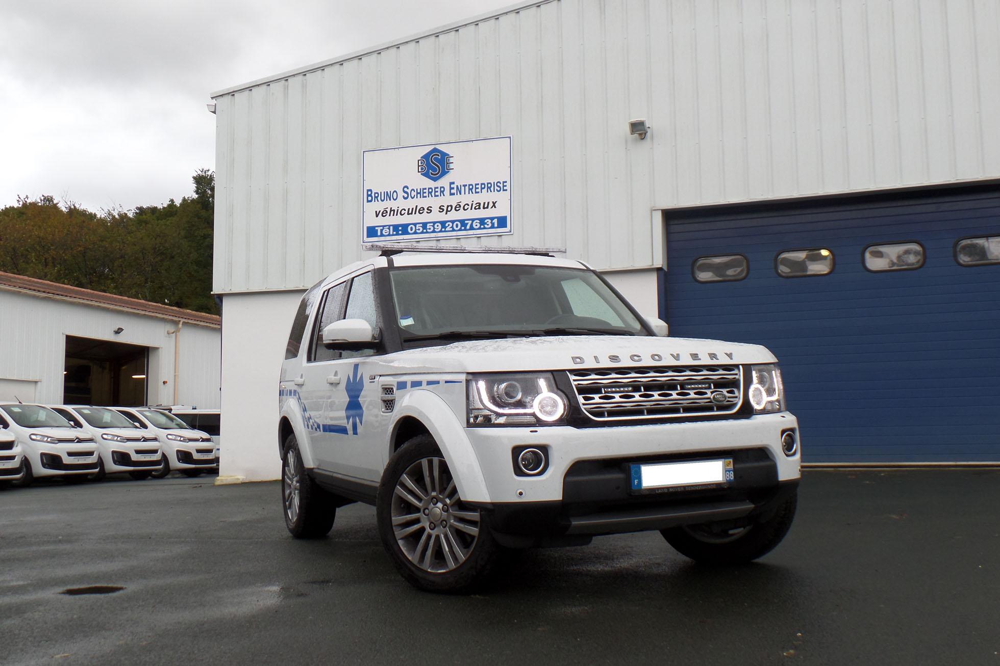 « des innovations pour les ambulances et les véhicules de transport sanitaire en général